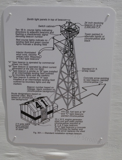 A sort of specifications diagram for the light tower. Not cheap, and they needed lots of them along certain stretches.