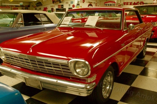 A 1963 Chevy Nova for $18,500, and an arm.