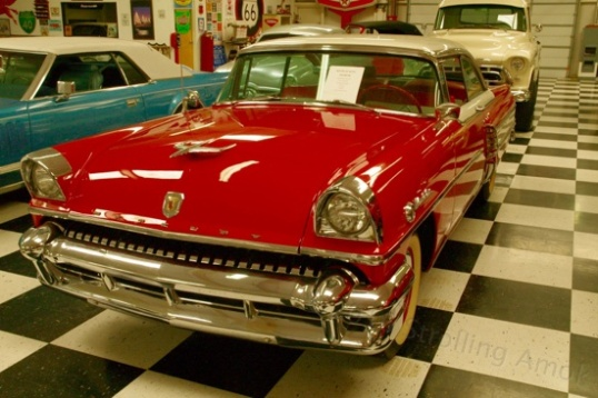 For $25,500, you can boulevard cruise in this 1955 Mercury Montclair, with 292 V8 and automatic.