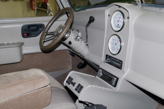 Its interior was, for better or worse, completely modernized.