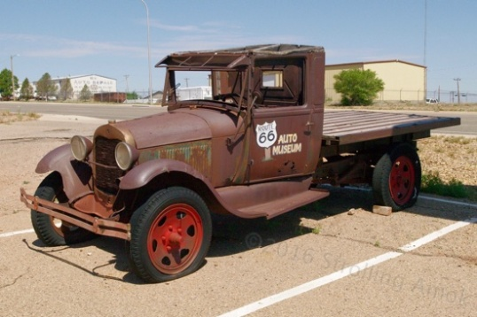 This 1930-ish Ford AA pickup was a much more capable version of their Model A, made for farm and delivery use. Top speed was about 35 MPH, because its shared engine was too small for the job and had to be geared way down. But, it was comparatively affordable.