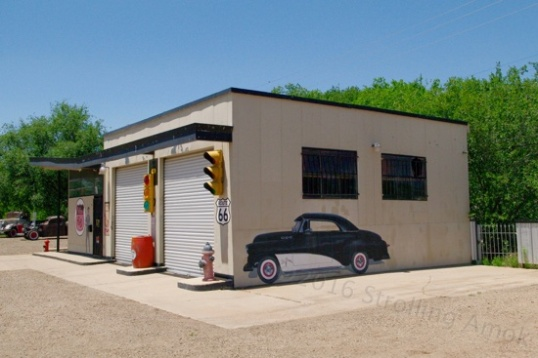 This is not your typical dilapidated garage.