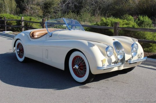 The 1948-1954 XK120 was intended to be a 200-car short-run, but proved so popular that it and even faster later derivatives carried the design right up to the stunning XKE in 1961.