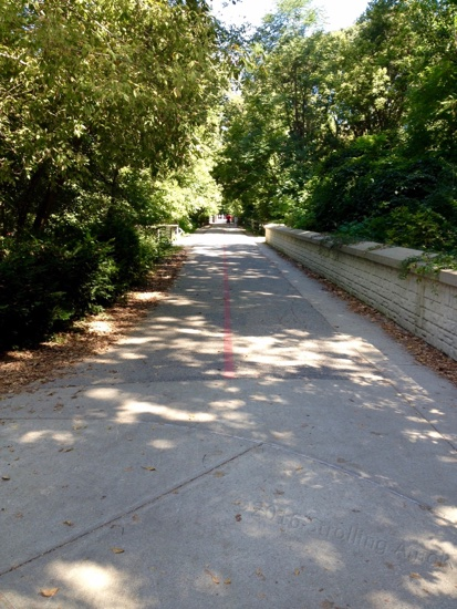 The monon Rail Trail is the Interstate of bike trails.