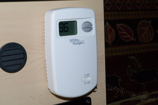 The digital thermostat gives more accurate temperature control than the previous model.