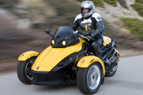 The Can-Am Spyder.