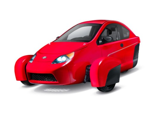 A 3-wheeler you can't buy yet, if ever.