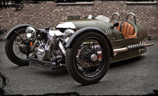 The reintroduced Morgan looks a heck of a lot like the 1930s original.