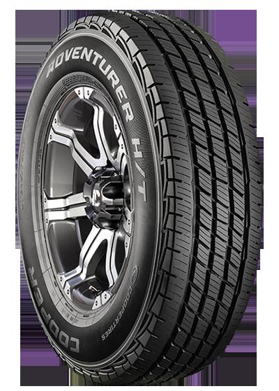 Here's yer basic highway light truck tire, a Cooper Adventurer HT.