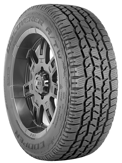 Doesn't seem to be much difference in this 'tweener mixed purpose tire, but because of its rubber compound and tread details, it's certified for snow and ice, which means the special compound doesn't harden up at low temps, resulting in a tire that grips markedly better on ice and snow.