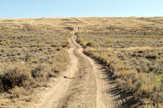 Where a trail goes matters only a little. It's the journey to find out that carries the satisfaction.