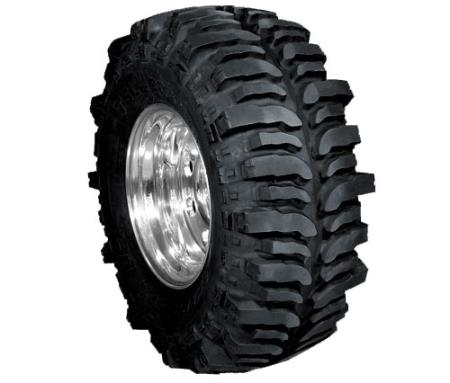 "Uh, these Yokohama Super Swamper TSL Bogger tires ought pull you out of mud, with what Yokohama describes as a ""menacing design""."